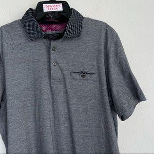 Ted Baker London Front Pocket Short Sleeve Polo